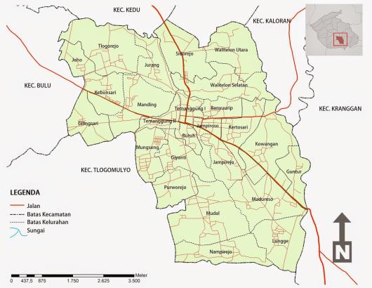 Peta Wilayah - Berita - PUSKESMAS TEMANGGUNG